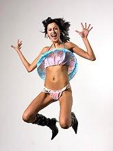 Victoria dancing nude